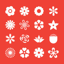 flower icons pack.