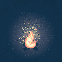 campfire illustration.