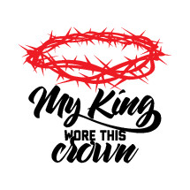 My king wore this crown