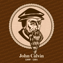 John Calvin (1509 – 1564) was a French theologian, pastor and reformer in Geneva during the Protestant Reformation. Christian figure.