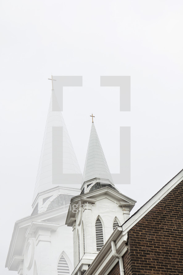 two steeples