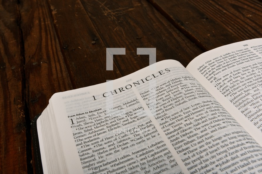 Scripture Titles - 1 Chronicles
