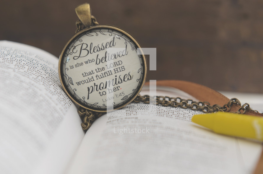 Blessed is she who believed that the Lord would fulfill his promises to her. Luke 1:45