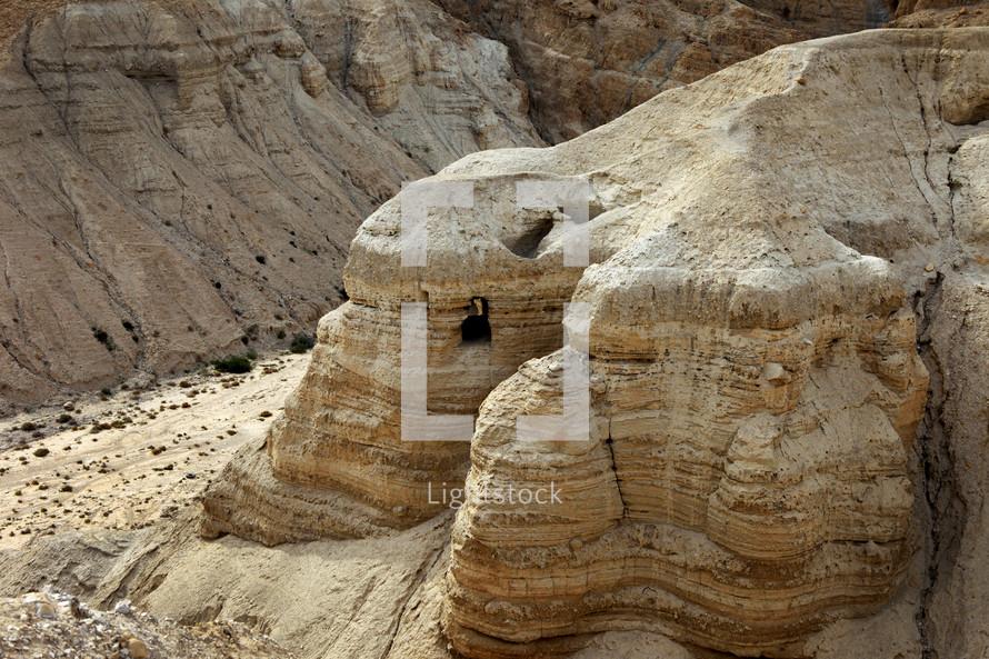 Cave #4 at Qumran