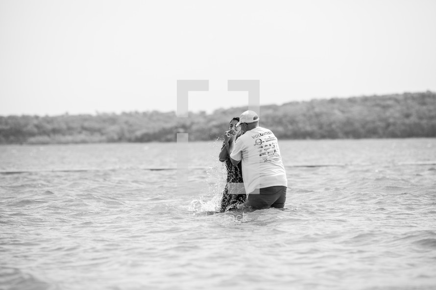 baptism in a lake