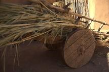 a wagon in biblical times