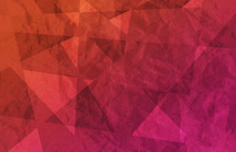 abstract red and pink gradient geometric background