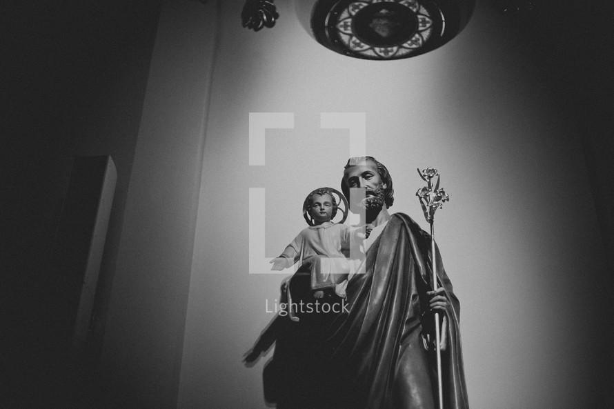 Statue in catholic church