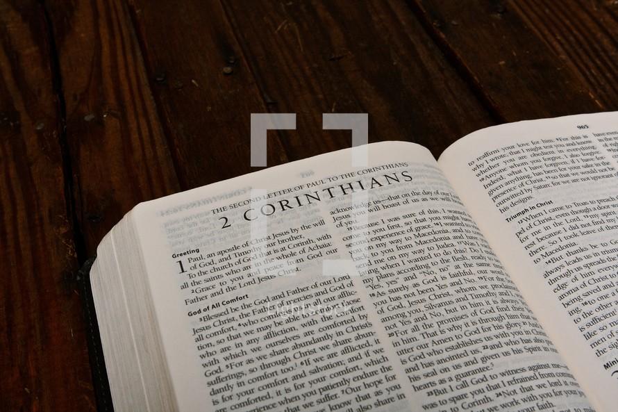 Scripture Titles -2 Corinthians
