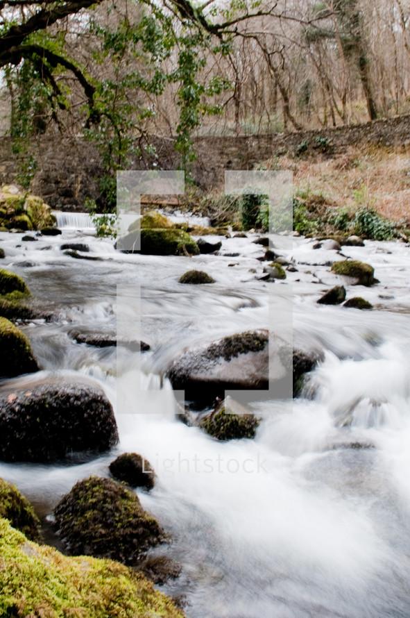 stream - rocks in stream