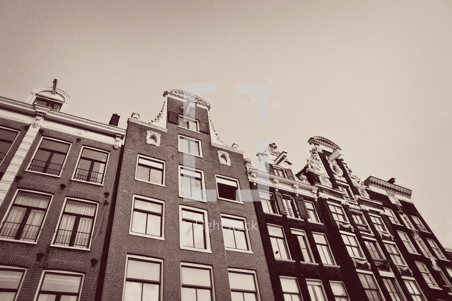 Buildings located in Amsterdam