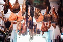 butcher in Italy