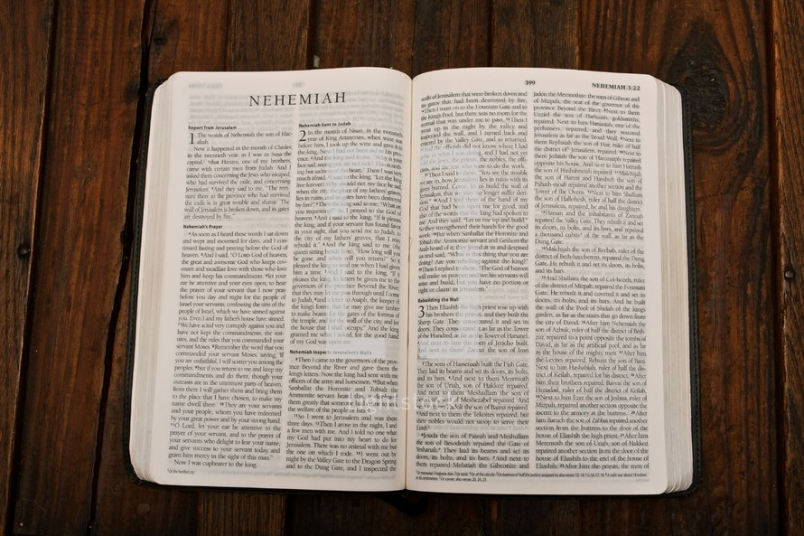 Scripture Titles - Nehemiah