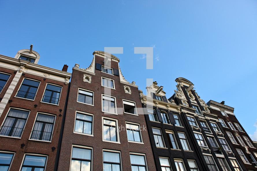 Brick building with many windows