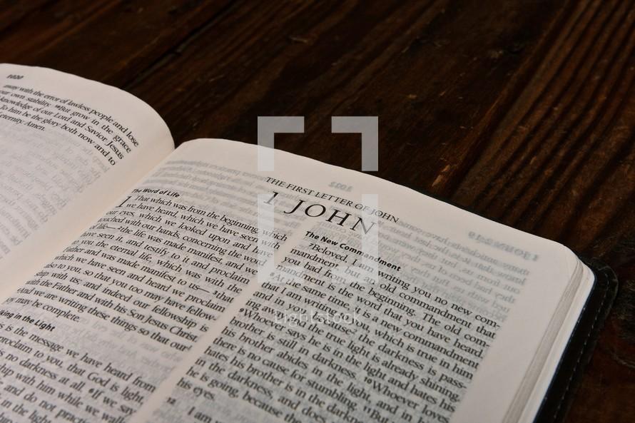 Scripture Titles - 1 John