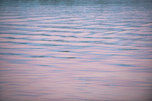 ripples in lake water