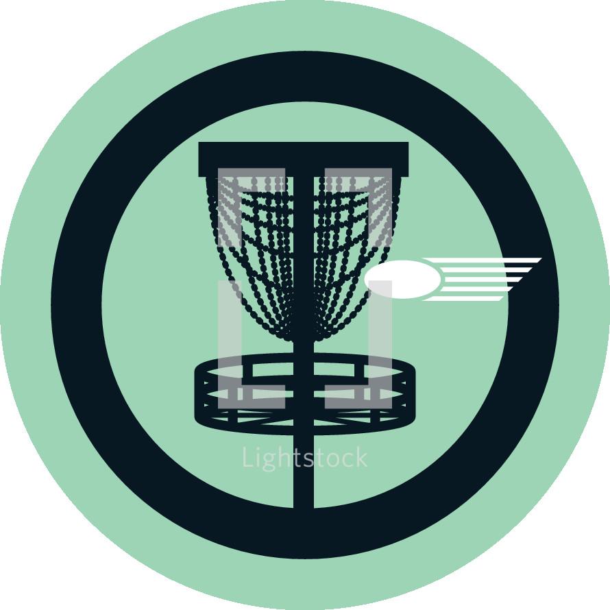 frisbee golf icon