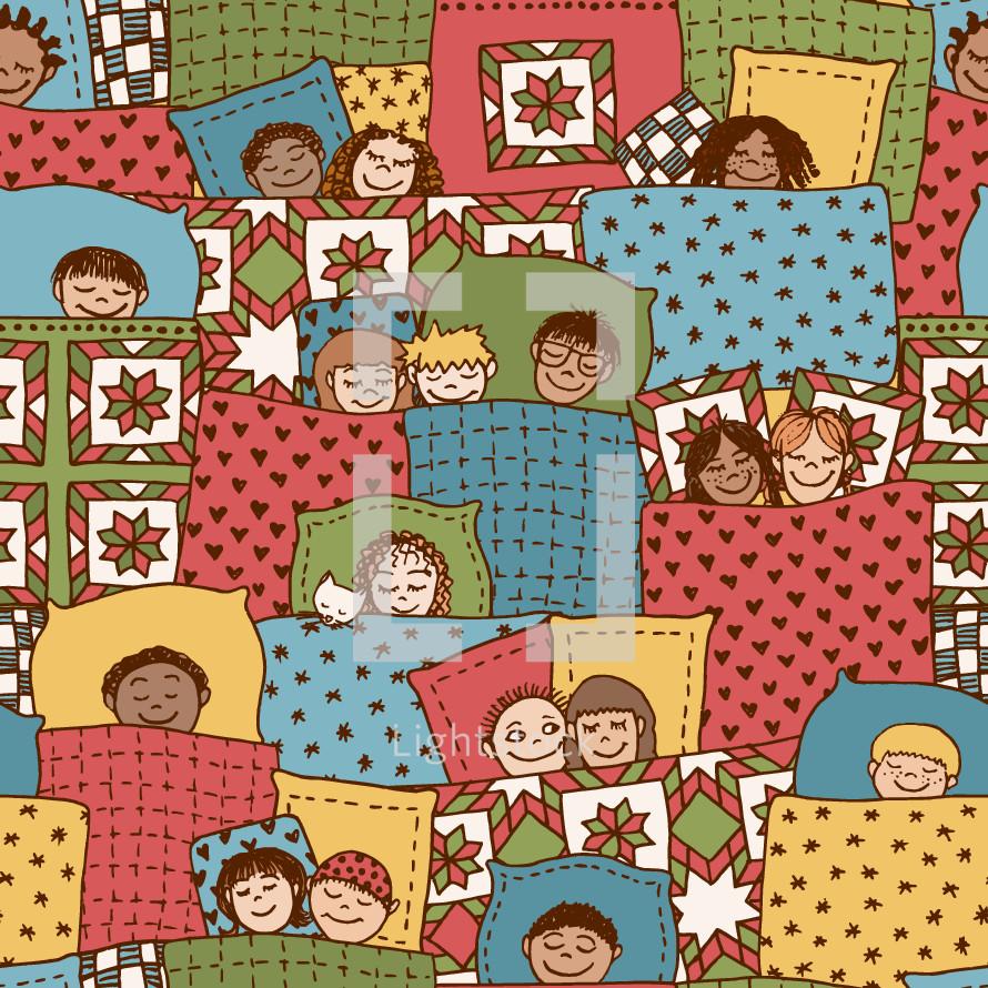 children dreaming