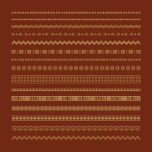 tribal ornamental lines pack