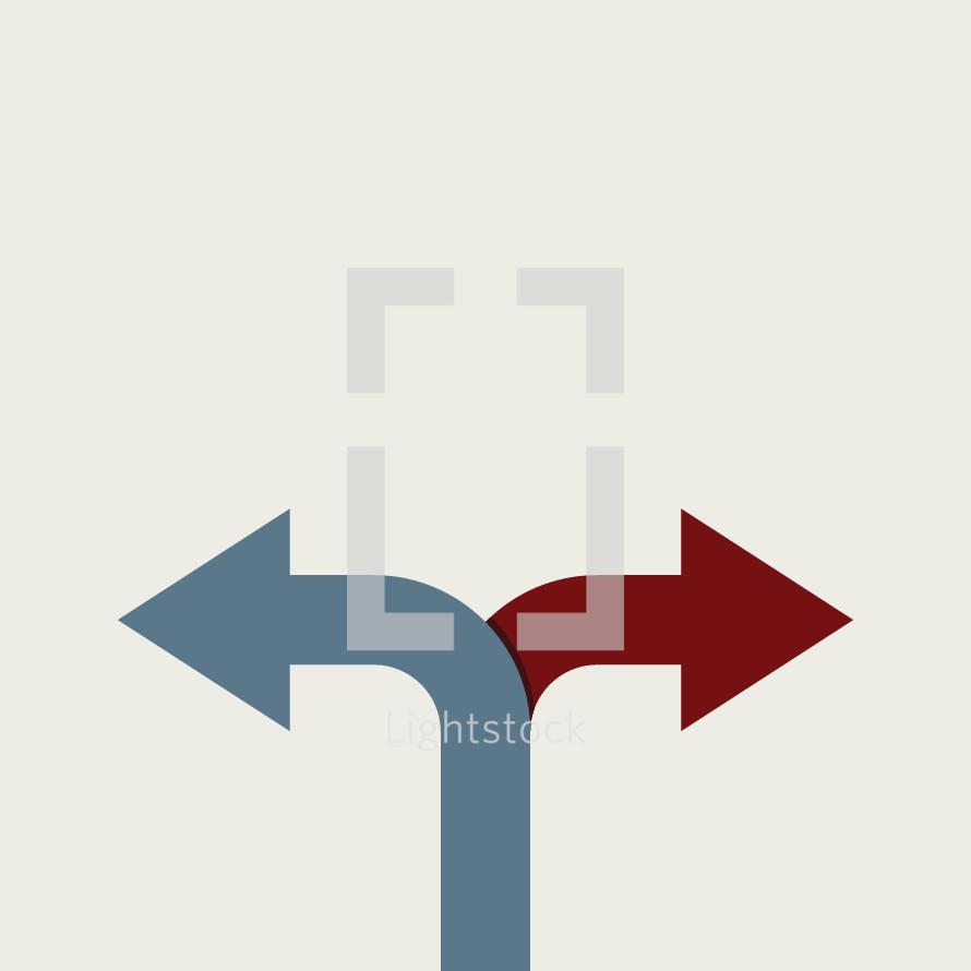 Simple politics conceptual illustration.