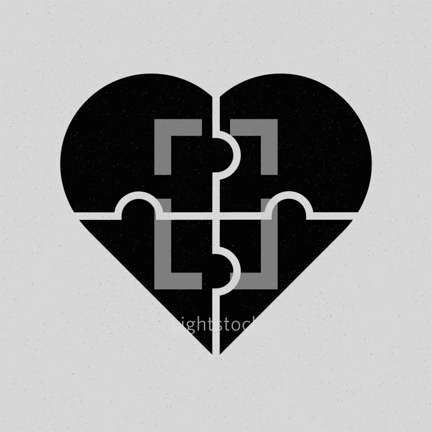 heart puzzle