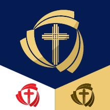 cross and shield logo