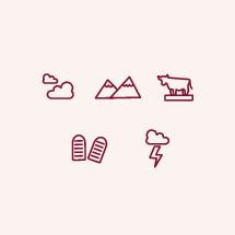 Ten Commandment icons