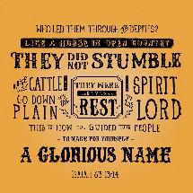 Isaiah 63:13-14