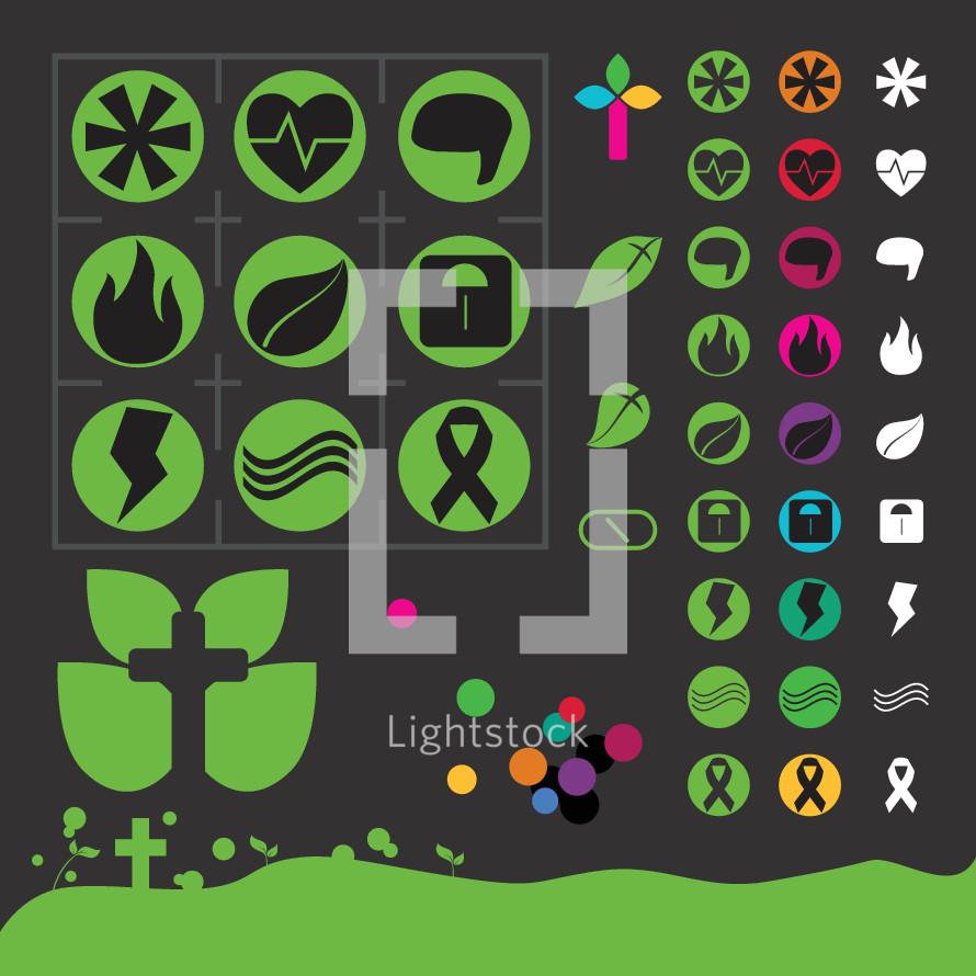 health icons