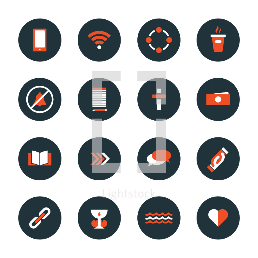 service web icons set.