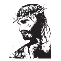 sketch of Jesus