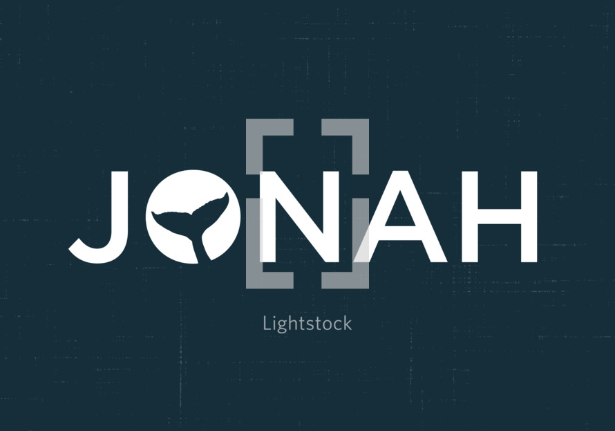 Jonah logo with whale tail icon