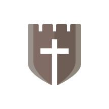 cross on shield