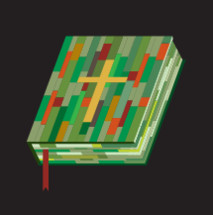 multicolored Bible icon