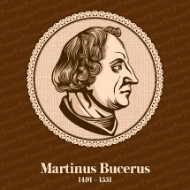 Martin Bucer (1491 – 1551) was a German Protestant reformer in the Reformed tradition based in Strasbourg who influenced Lutheran, Calvinist, and Anglican doctrines and practices. Christian figure.