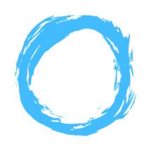 circle brushstroke