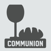 Communion vector graphic