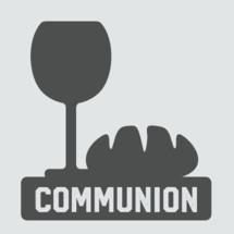 Communion vector graphic