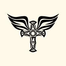 wings on a cross