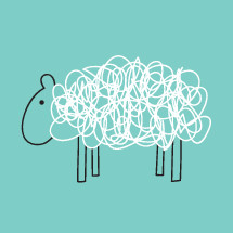 scribble sheep