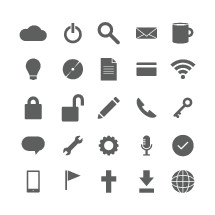 General web icons pack.