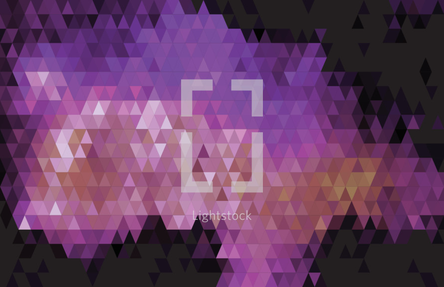 purple triangles background