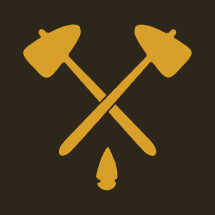 tomahawk and arrow head