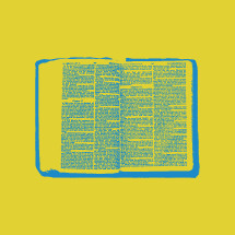 open pages of the Bible graphic.