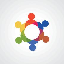 community concept vector icon.