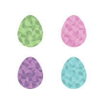 poly Easter eggs