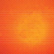 abstract orange poly sunburst background.