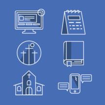 modern church icons