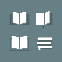 book vectors icon set.