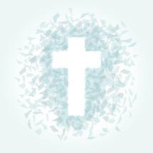 poly cross illustration.